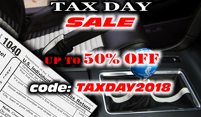 Tax Day Sale - SAVE up yo 50%!